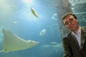 Directeur Alex van Hooff van Burgers' Zoo in Arnhem.