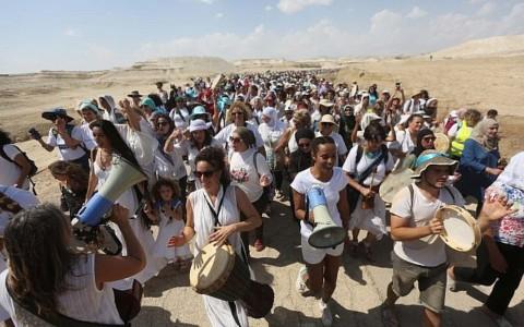 WOMEN WAGE PEACE marcheerde op 8 oktober voor vrede [view]