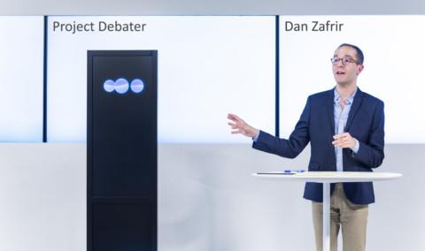 Steelt de MACHINE DEBATER de show tijdens het debat? [view]