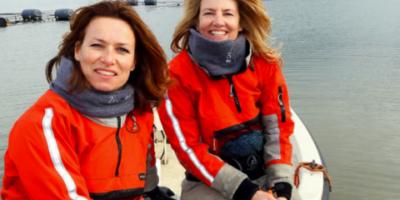 Jennifer Breaton en Rebecca Wiering beginnen zeewierboerderij: Zeewaar