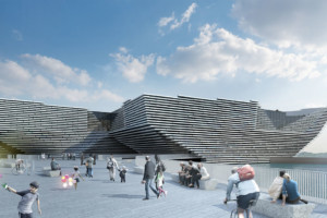 Design Museum V&A in Dundee heeft z'n precedent in Bilbao