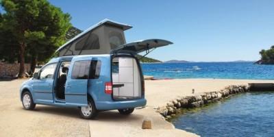 Kamperen met minicamper of smart caravan