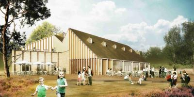 De Hoge Veluwe bouwt een duurzaam centrum