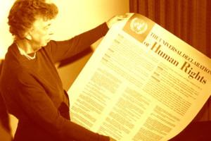 Eleanor Roosevelt, voorvechtster van de Rechten van de Mens