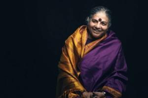 Dr. Vandana Shiva, milieu- en mensenrechtenactivist