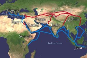 zijderoute China