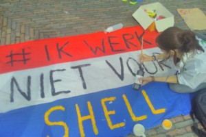 ik werk niet voor Shell