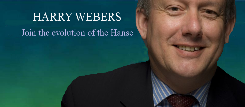 Join the evolution of the Hanse with Harry Webers