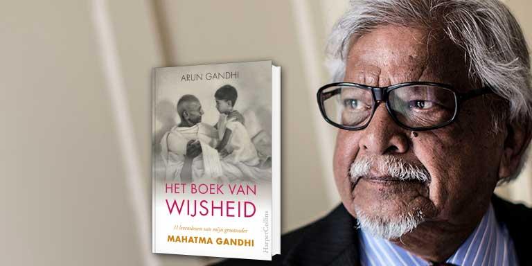 Arun Gandhi's levenslessen in de Evolutiegids