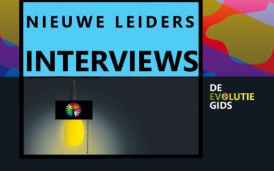 Interviews met nieuwe leiders in De Evolutiegids