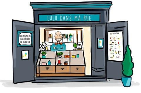 LULU, de buurtcongiëres van Parijs [view]