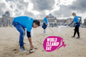 World Cleanupday in de Evolutiegids