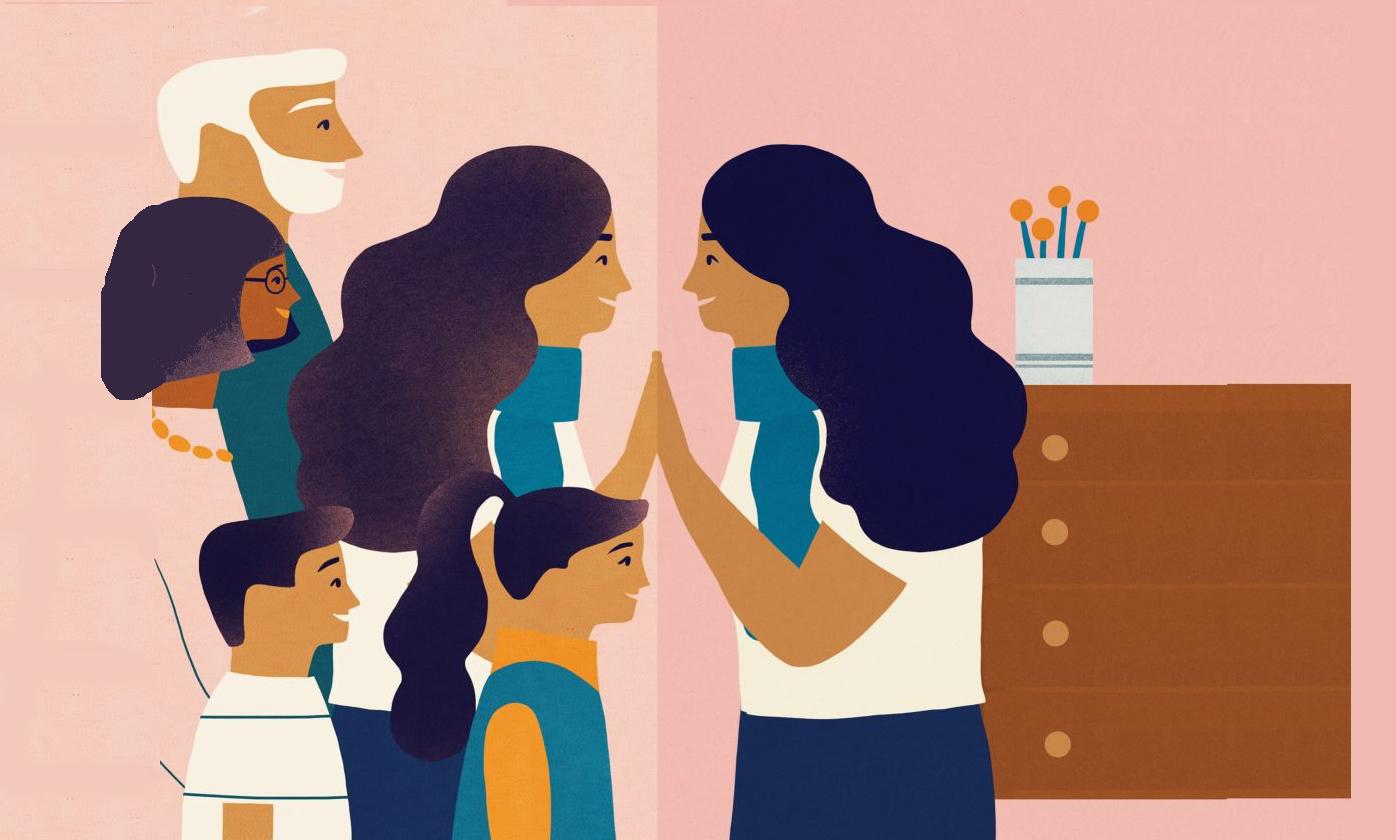 quality time met familie in de Evolutiegids