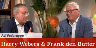 Harry Webers & Frank den Butter bij Ad Verbrugge in de Nieuwe Wereld