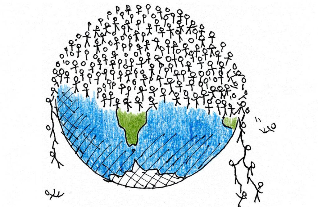 Taboe overbevolking in De Evolutiegids