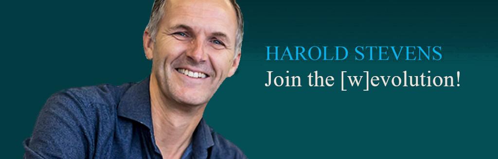 Harold Stevens in De Evolutiegids